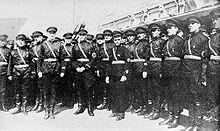 Russian fascists (Harbin)