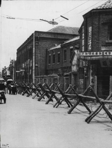 Japanese Blockade Tientsin