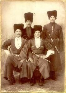 Cossacks, White Russians, in Tientsin